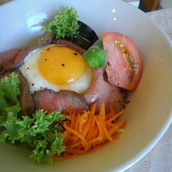ランチ/ローストビーフ丼