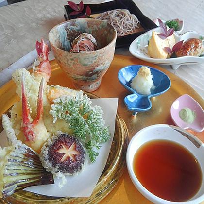 揚げたて天ぷらセット2,200円(税込)